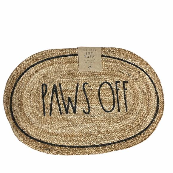 🐩🐶Rae Dunn 🐶🐩 PAWS OFF Pet Mat